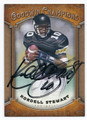 KORDELL STEWART UNIVERSITY OF COLORADO BOULDER AUTOGRAPHED FOOTBALL CARD #22816F