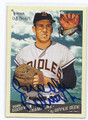 BROOKS ROBINSON BALTIMORE ORIOLES AUTOGRAPHED BASEBALL CARD #30416G