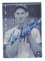 TED WILLIAMS BOSTON RED SOX AUTOGRAPHED BASEBALL CARD #30716D