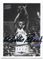 WILLIS REED NEW YORK KNICKS AUTOGRAPHED BASKETBALL CARD #30716G