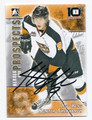 HUNTER SHINKARUK MEDICINE HAT TIGERS AUTOGRAPHED ROOKIE HOCKEY CARD #31016C
