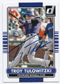 TROY TULOWITZKI COLORADO ROCKIES AUTOGRAPHED BASEBALL CARD #31016D