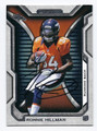 RONNIE HILLMAN DENVER BRONCOS AUTOGRAPHED ROOKIE FOOTBALL CARD #31016E