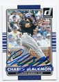 CHARLIE BLACKMON COLORADO ROCKIES AUTOGRAPHED BASEBALL CARD #31116C