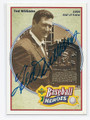TED WILLIAMS BOSTON RED SOX AUTOGRAPHED BASEBALL CARD #31416H