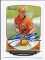 CARLOS CORREA HOUSTON ASTROS AUTOGRAPHED ROOKIE BASEBALL CARD #31516B