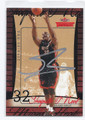 SHAQUILLE O'NEAL MIAMI HEAT AUTOGRAPHED BASKETBALL CARD #31516C