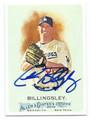 CHAD BILLINGSLEY LOS ANGELES DODGERS AUTOGRAPHED BASEBALL CARD #31716C