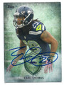 EARL THOMAS SEATTLE SEAHAWKS AUTOGRAPHED FOOTBALL CARD #32016E