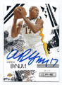 ANDREW BYNUM LOS ANGELES LAKERS AUTOGRAPHED BASKETBALL CARD #32116A