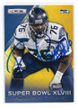 RUSSELL OKUNG SEATTLE SEAHAWKS AUTOGRAPHED FOOTBALL CARD #32116E