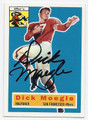 DICKY MOEGLE SAN FRANCISCO 49ers AUTOGRAPHED FOOTBALL CARD #32216H