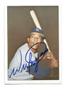WILLIE DAVIS LOS ANGELES DODGERS AUTOGRAPHED VINTAGE BASEBALL CARD #32316H
