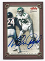 MIKE QUICK PHILADELPHIA EAGLES AUTOGRAPHED FOOTBALL CARD #32416B