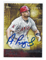 ALBERT PUJOLS LOS ANGELES ANGELS OF ANAHEIM AUTOGRAPHED BASEBALL CARD #32416H