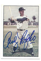 ANDY PAFKO BROOKLYN DODGERS AUTOGRAPHED VINTAGE BASEBALL CARD #32616H