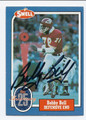 BOBBY BELL KANSAS CITY CHIEFS AUTOGRAPHED VINTAGE FOOTBALL CARD #32916A