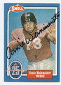 ARNIE WEINMEISTER AUTOGRAPHED HALL OF FAME VINTAGE FOOTBALL CARD #33016F