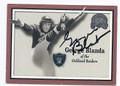 GEORGE BLANDA OAKLAND RAIDERS AUTOGRAPHED FOOTBALL CARD #33016G