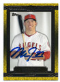 MIKE TROUT LOS ANGELES ANGELS OF ANAHEIM AUTOGRAPHED BASEBALL CARD #33116D