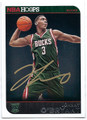 JOHNNY O'BRYANT MILWAUKEE BUCKS AUTOGRAPHED ROOKIE BASKETBALL CARD #40116A