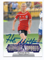 HEATHER MITTS ATLANTA BEAT AUTOGRAPHED SOCCER CARD #40216D