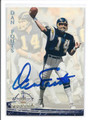 DAN FOUTS SAN DIEGO CHARGERS AUTOGRAPHED FOOTBALL CARD #40216F