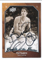 BRAD DAUGHERTY NORTH CAROLINA TAR HEELS AUTOGRAPHED BASKETBALL CARD #40516A