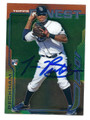 TIM BECKHAM TAMPA BAY RAYS AUTOGRAPHED ROOKIE BASEBALL CARD #40516H