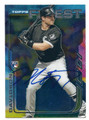 MATT DAVIDSON CHICAGO WHITE SOX AUTOGRAPHED ROOKIE BASEBALL CARD #40616F