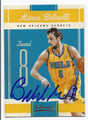 MARCO BELINELLI NEW ORLEANS HORNETS AUTOGRAPHED BASKETBALL CARD #40716A