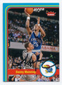 DANNY MANNING UNIVERSITY OF KANSAS JAYHAWKS AUTOGRAPHED BASKETBALL CARD #40716C