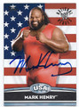 MARK HENRY AUTOGRAPHED WRESTLING CARD #40816G