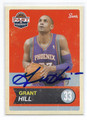 GRANT HILL PHOENIX SUNS AUTOGRAPHED BASKETBALL CARD #41016C