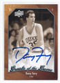 DANNY FERRY DUKE UNIVERSITY BLUE DEVILS AUTOGRAPHED BASKETBALL CARD #41016G