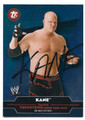 KANE AUTOGRAPHED WRESTLING CARD #41116A