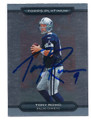 TONY ROMO DALLAS COWBOYS AUTOGRAPHED FOOTBALL CARD #41216C
