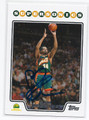 SAM PERKINS SEATTLE SUPERSONICS AUTOGRAPHED BASKETBALL CARD #41816D