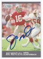 JOE MONTANA SAN FRANCISCO 49ers AUTOGRAPHED FOOTBALL CARD #41816H
