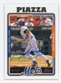 MIKE PIAZZA NEW YORK METS AUTOGRAPHED BASEBALL CARD #41916A