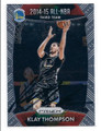 KLAY THOMPSON GOLDEN STATE WARRIORS AUTOGRAPHED BASKETBALL CARD #41916E