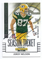 JORDY NELSON GREEN BAY PACKERS AUTOGRAPHED FOOTBALL CARD #41916H
