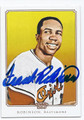FRANK ROBINSON BALTIMORE ORIOLES AUTOGRAPHED BASEBALL CARD #42316F