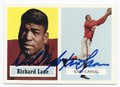 "DICK ""NIGHT TRAIN"" LANE CHICAGO CARDINALS AUTOGRAPHED FOOTBALL CARD #42416B"