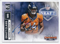 CODY LATIMER DENVER BRONCOS AUTOGRAPHED ROOKIE FOOTBALL CARD #42516C