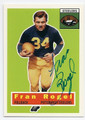 FRANK ROGEL PITTSBURGH STEELERS AUTOGRAPHED FOOTBALL CARD #42616B
