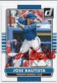 JOSE BAUTISTA TORONTO BLUE JAYS AUTOGRAPHED BASEBALL CARD #42616D