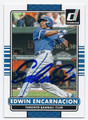 EDWIN ENCARNACION TORONTO BLUE JAYS AUTOGRAPHED BASEBALL CARD #42816E