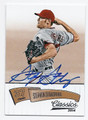 STEPHEN STRASBURG WAHINGTON NATIONALS AUTOGRAPHED BASEBALL CARD #42816H