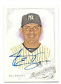 JACOBY ELLSBURY NEW YORK YANKEES AUTOGRAPHED BASEBALL CARD #42916A